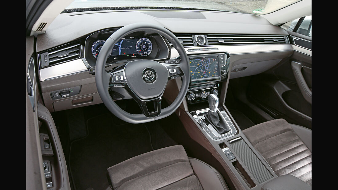 VW Passat 2.0 TDI 4Motion, Cockpit