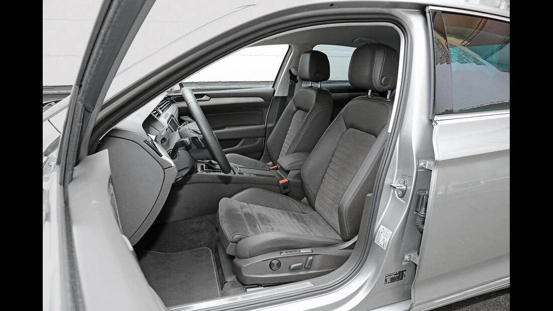 VW Passat 2.0 TDI 4Motion, Fahrersitz