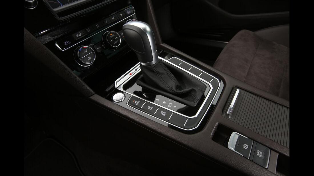 VW Passat 2.0 TDI 4Motion, Schalthebel