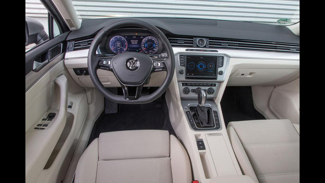VW Passat 2.0 TDI, Cockpit