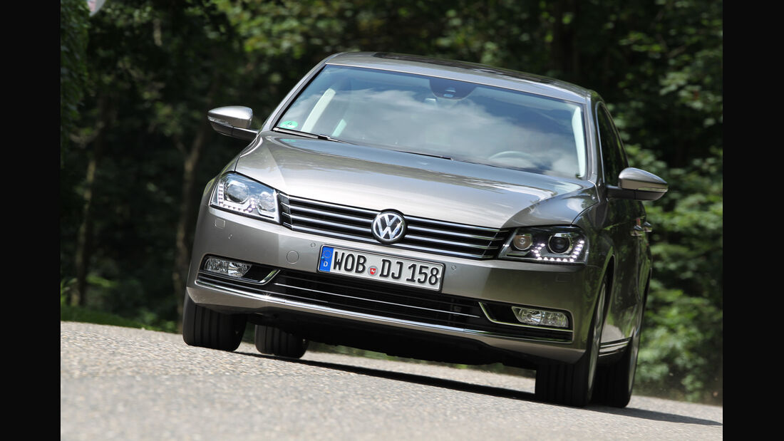 VW Passat 2.0 TDI DSG, Frontansicht
