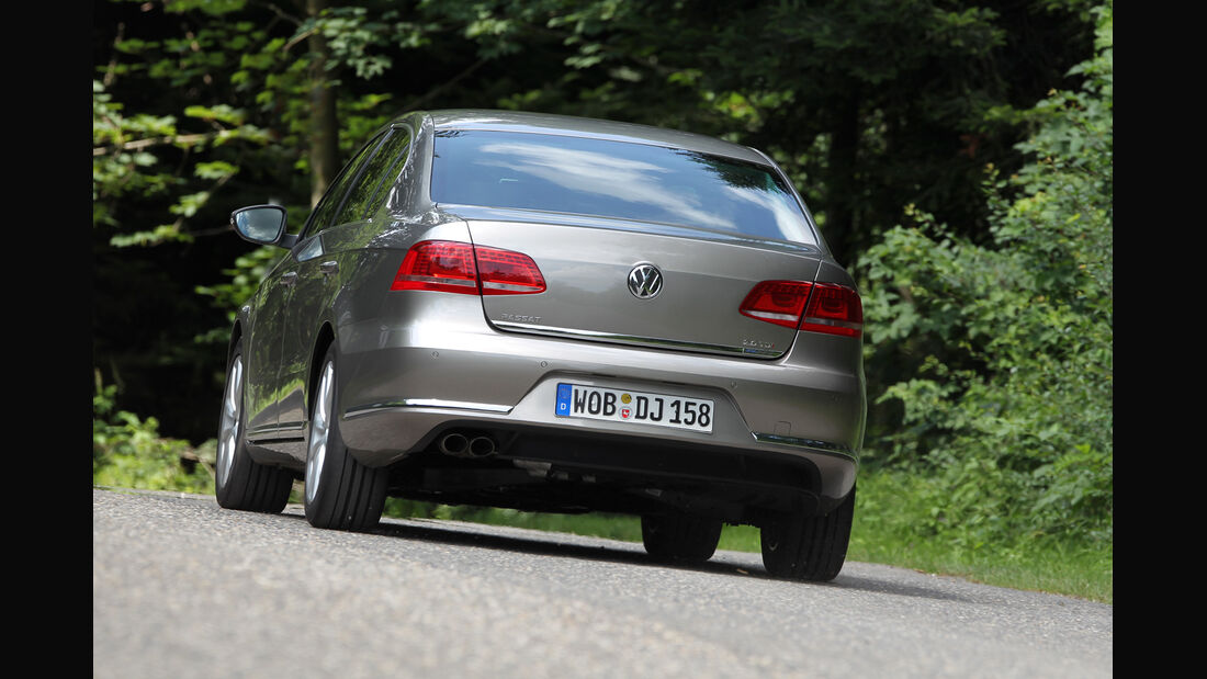VW Passat 2.0 TDI DSG, Heckansicht