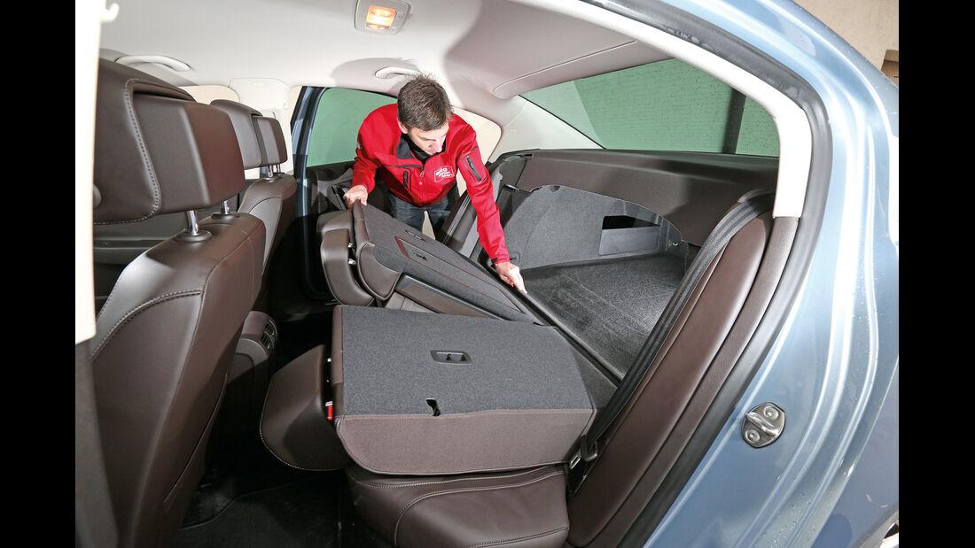VW Passat 2.0 TDI DSG, Rücksitze, Umklappen