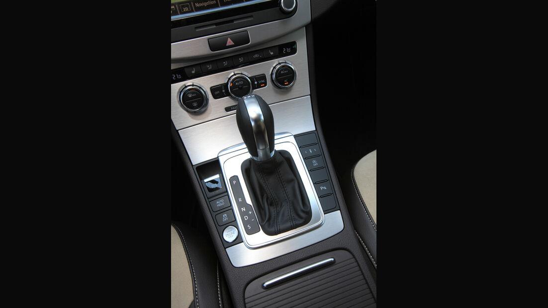 VW Passat 2.0 TDI DSG, Schalthebel, Schaltknauf