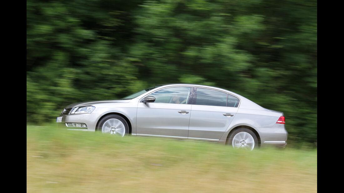 VW Passat 2.0 TDI DSG, Seitenansicht
