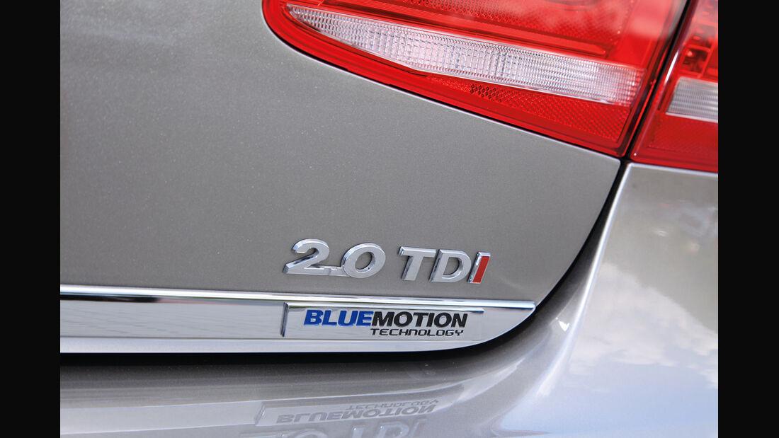VW Passat 2.0 TDI DSG, Typenbezeichnung