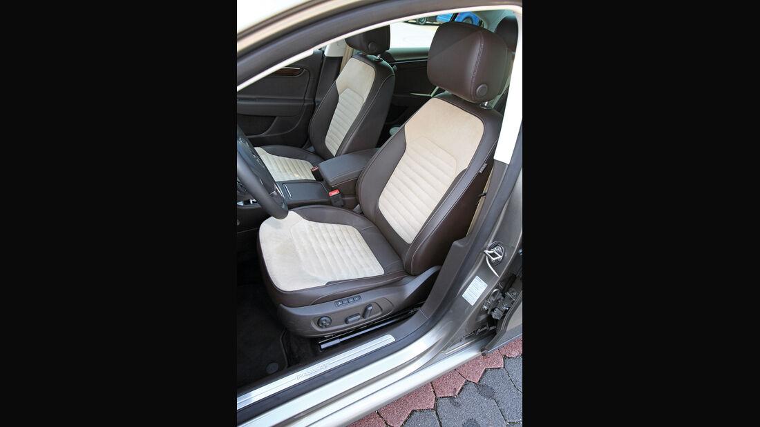 VW Passat 2.0 TDI DSG, Vordersitze