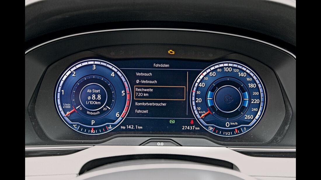 VW Passat 2.0 TDI, Rundinstrumente