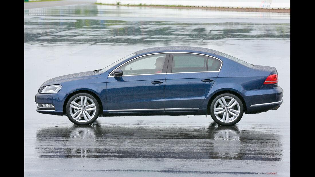 VW Passat 2.0 TDI, Seitenansicht