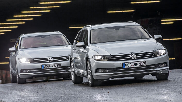Motor-Varianten im Vergleich - VW Passat 2 0 TDI vs  2 0 TDI