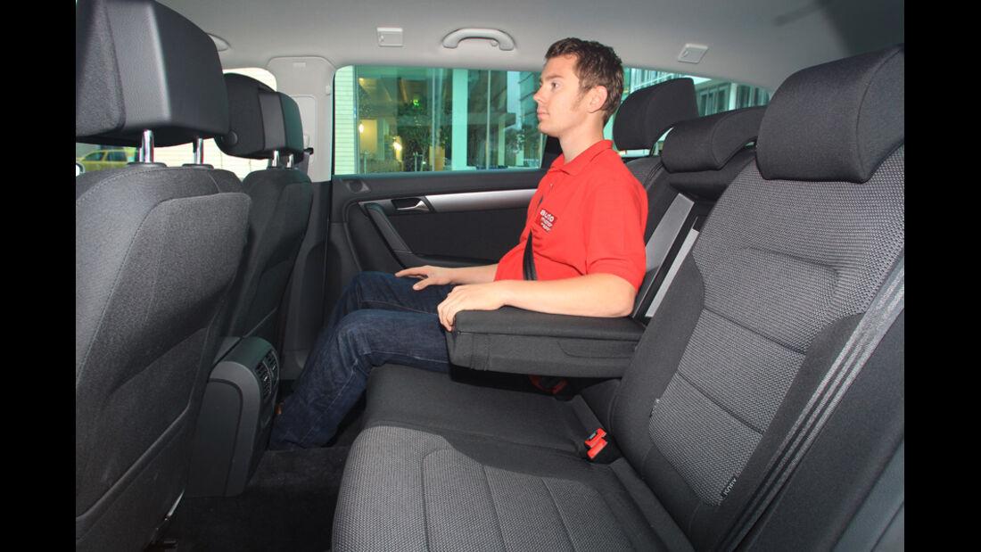 VW Passat 2.0 TDI Variant, Fond
