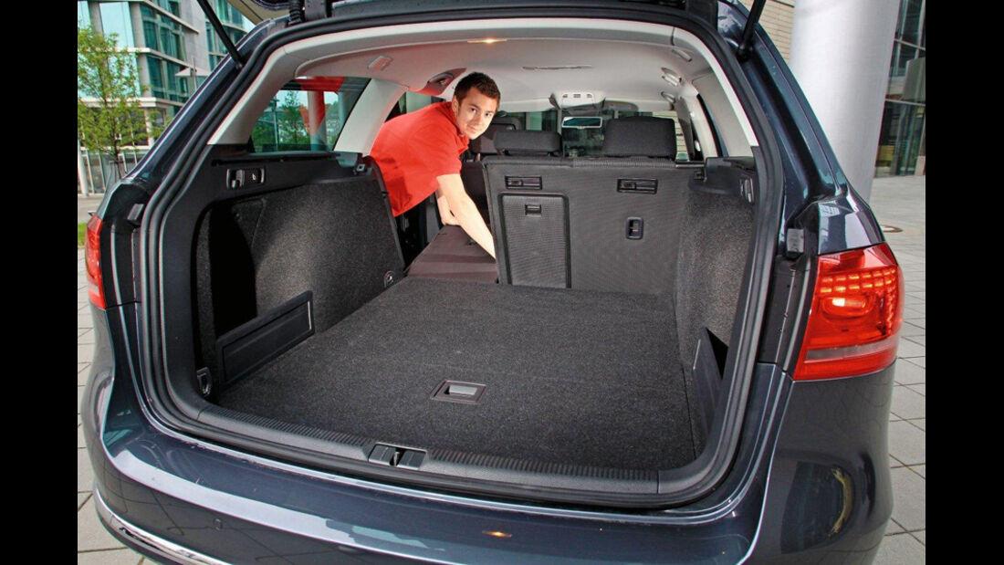 VW Passat 2.0 TDI Variant, Kofferraum