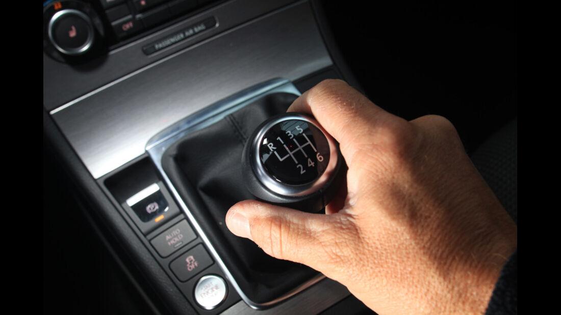 VW Passat 2.0 TDI Variant, Schaltknauf