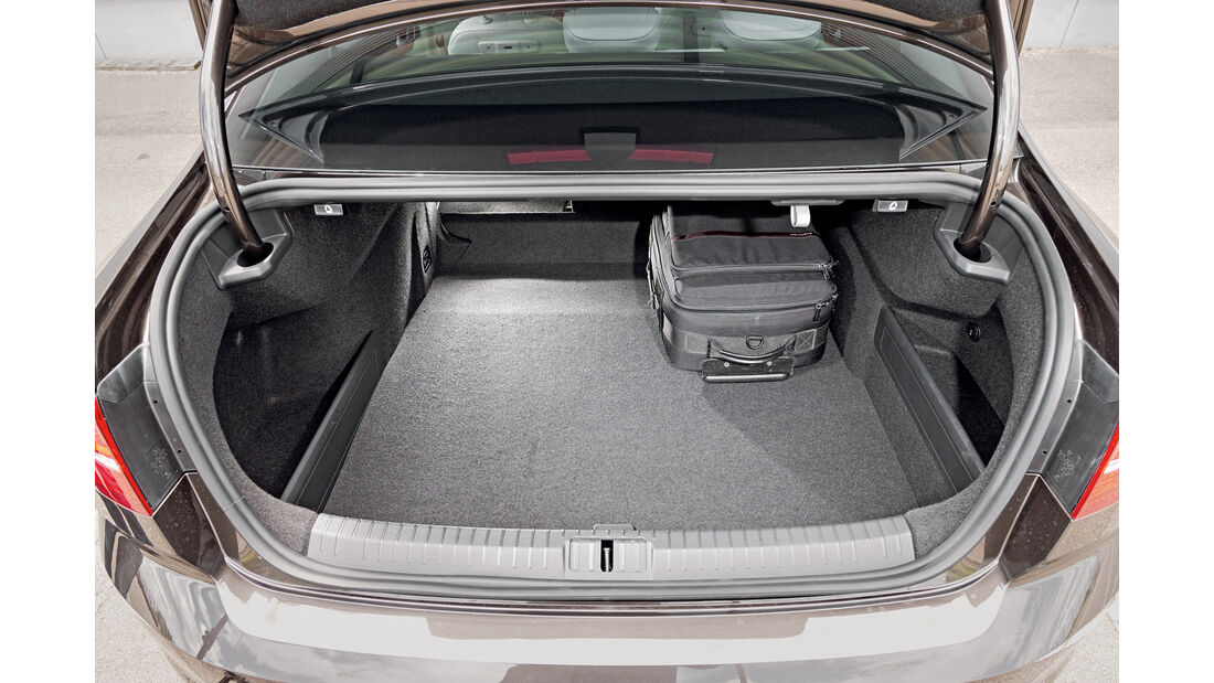 VW Passat 2.0 TSI, Kofferaum