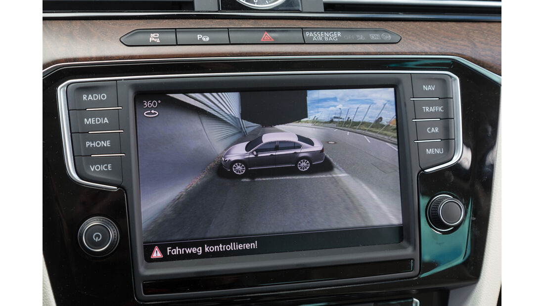 VW Passat 2.0 TSI, Rückfahrkamera