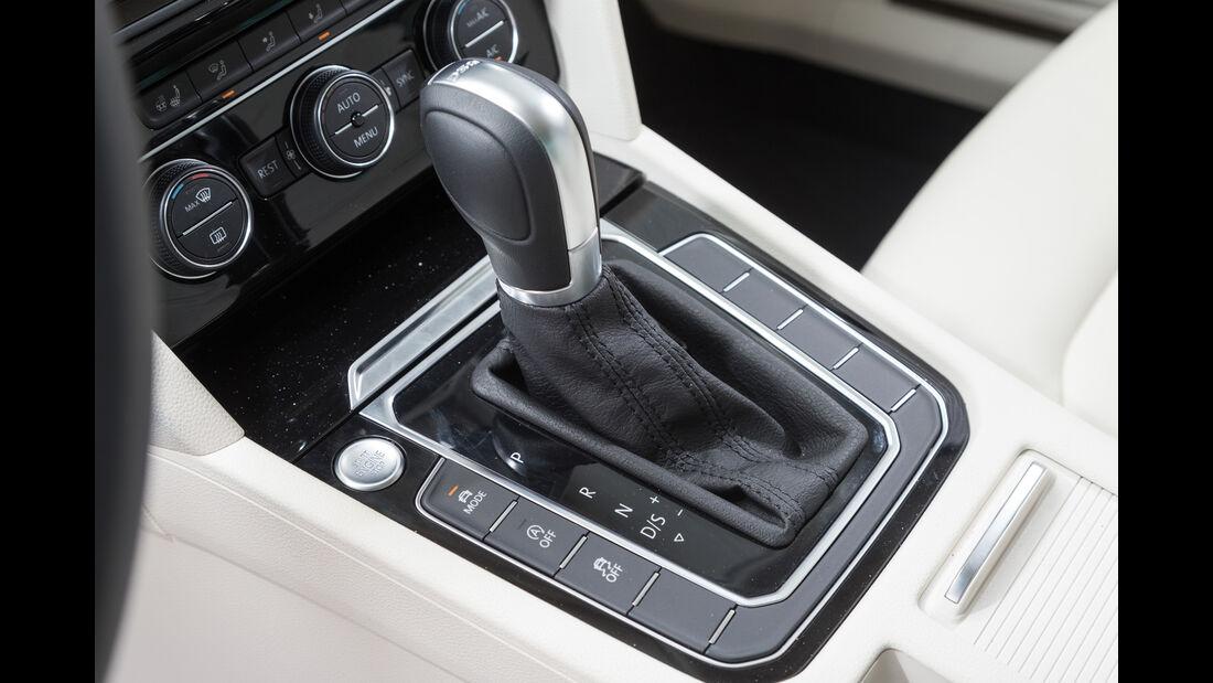 VW Passat 2.0 TSI, Schalthebel
