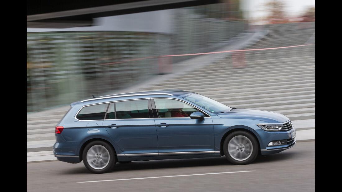VW Passat 2.0 TSI, Seitenansicht