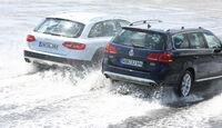 VW Passat Alltrack 2.0 TDI 4Motion, Audi A4 Allroad Quattro 2.0 TDI