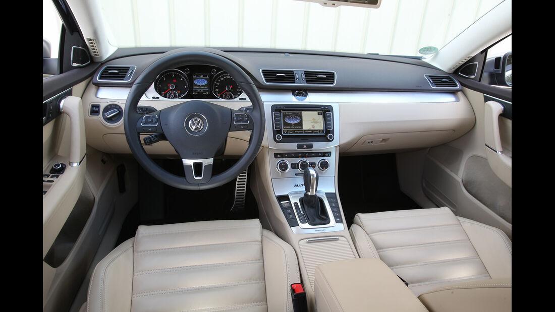 VW Passat Alltrack 2.0 TDI 4Motion, Cockpit, Lenkrad