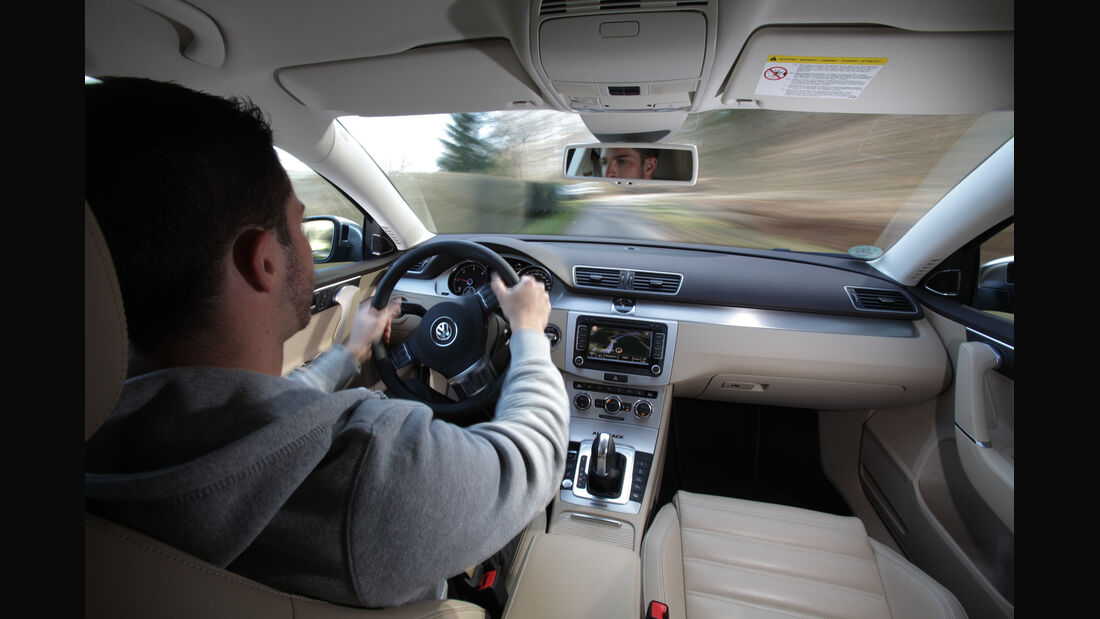 VW Passat Alltrack 2.0 TDI 4Motion, Cockpit
