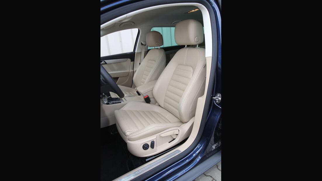 VW Passat Alltrack 2.0 TDI 4Motion, Fahrersitz