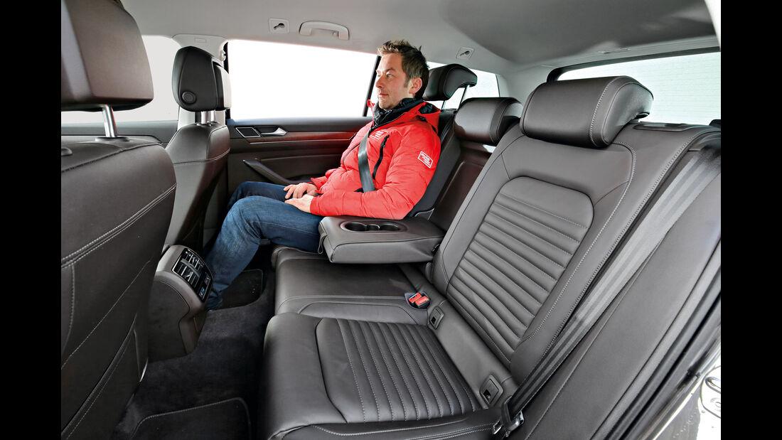 VW Passat Alltrack 2.0 TDI 4Motion, Fondsitze