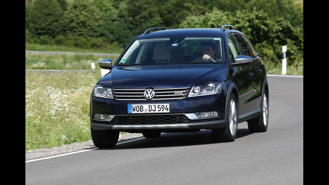 VW Passat Alltrack 2.0 TDI 4Motion, Frontansicht
