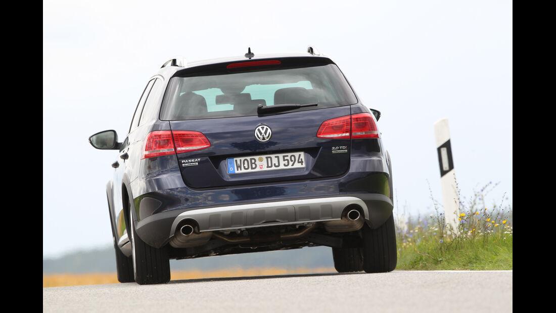 VW Passat Alltrack 2.0 TDI 4Motion, Heckansicht