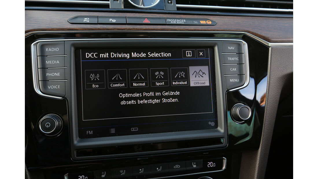 VW Passat Alltrack 2.0 TDI 4Motion, Infotainment