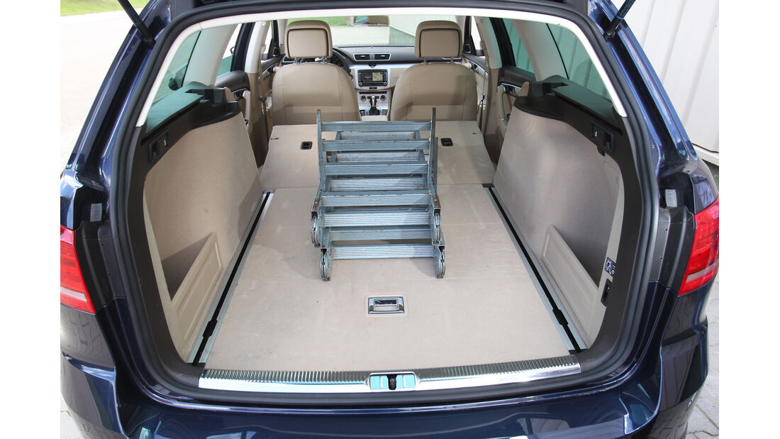 VW Passat Alltrack 2.0 TDI 4Motion, Kofferraum, Ladefläche