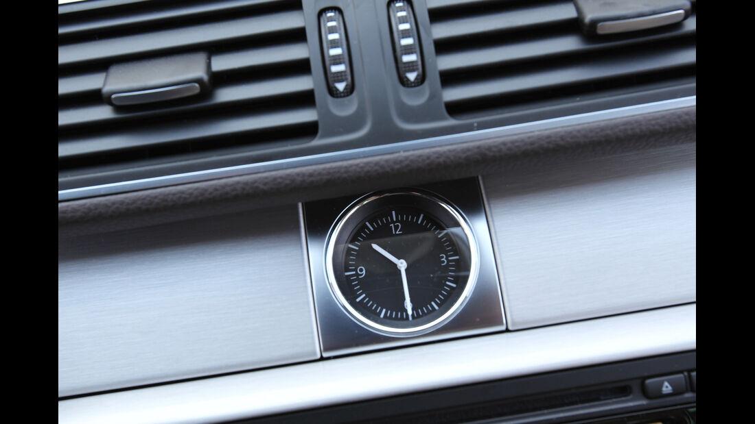 VW Passat Alltrack 2.0 TDI 4Motion, Luftausströmer, Uhr