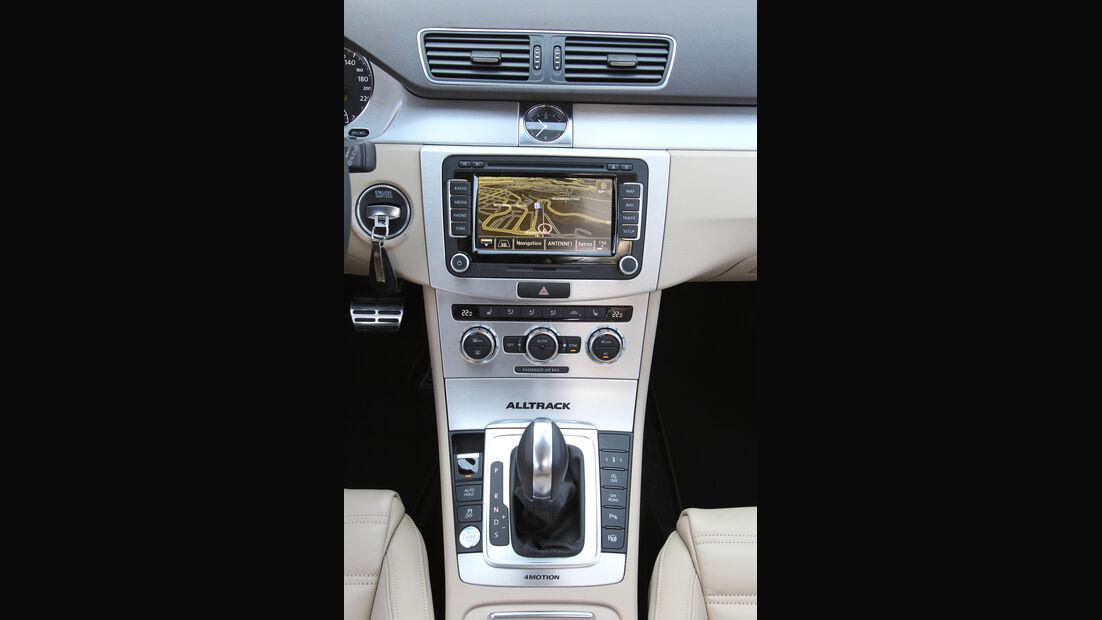 VW Passat Alltrack 2.0 TDI 4Motion, Mittelkonsole