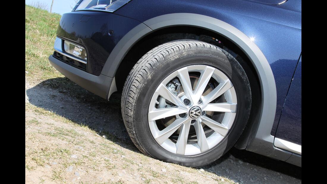 VW Passat Alltrack 2.0 TDI 4Motion, Rad, Felge