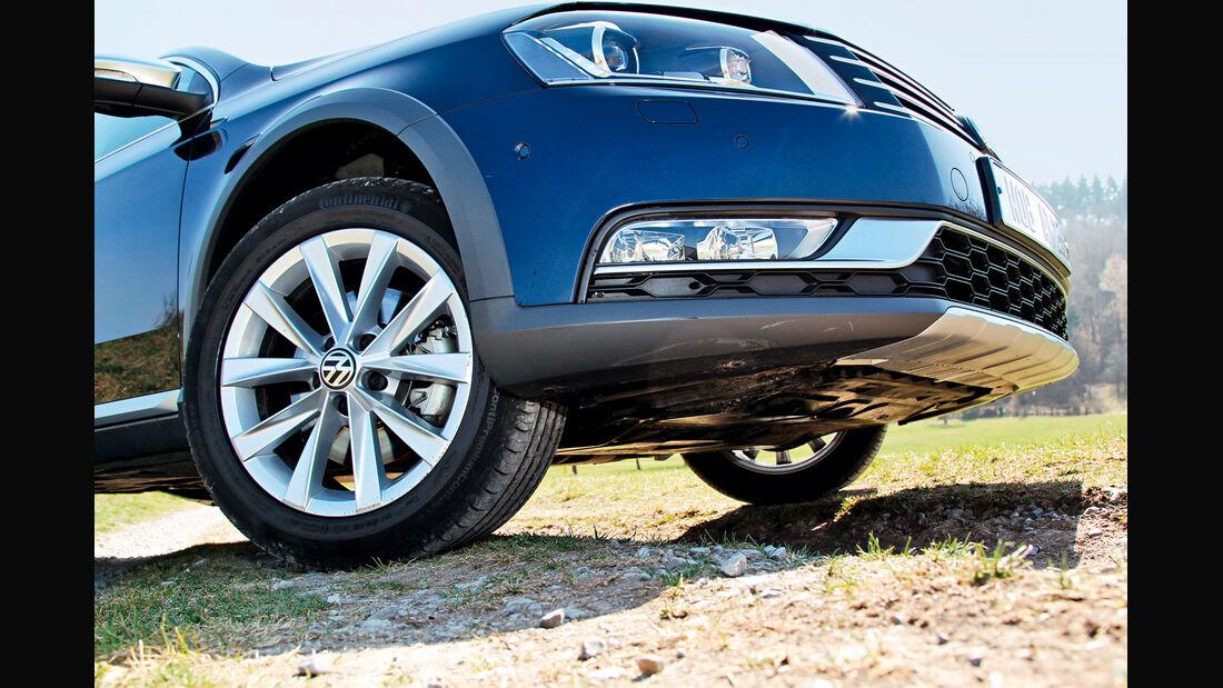 VW Passat Alltrack 2.0 TDI 4Motion, Rad, Felge, Frontpartie
