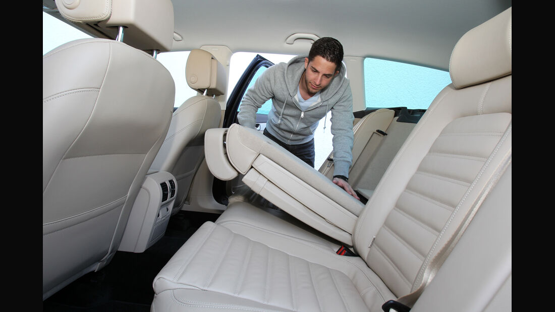VW Passat Alltrack 2.0 TDI 4Motion, Rücksitz, umklappen