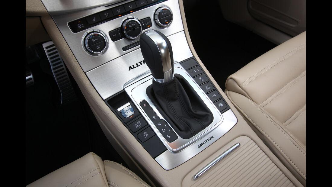 VW Passat Alltrack 2.0 TDI 4Motion, Schalthebel, Schaltknauf