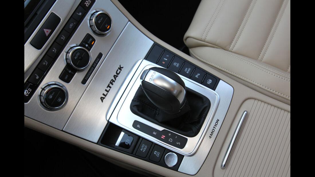VW Passat Alltrack 2.0 TDI 4Motion, Schaltknauf, Schalthebel
