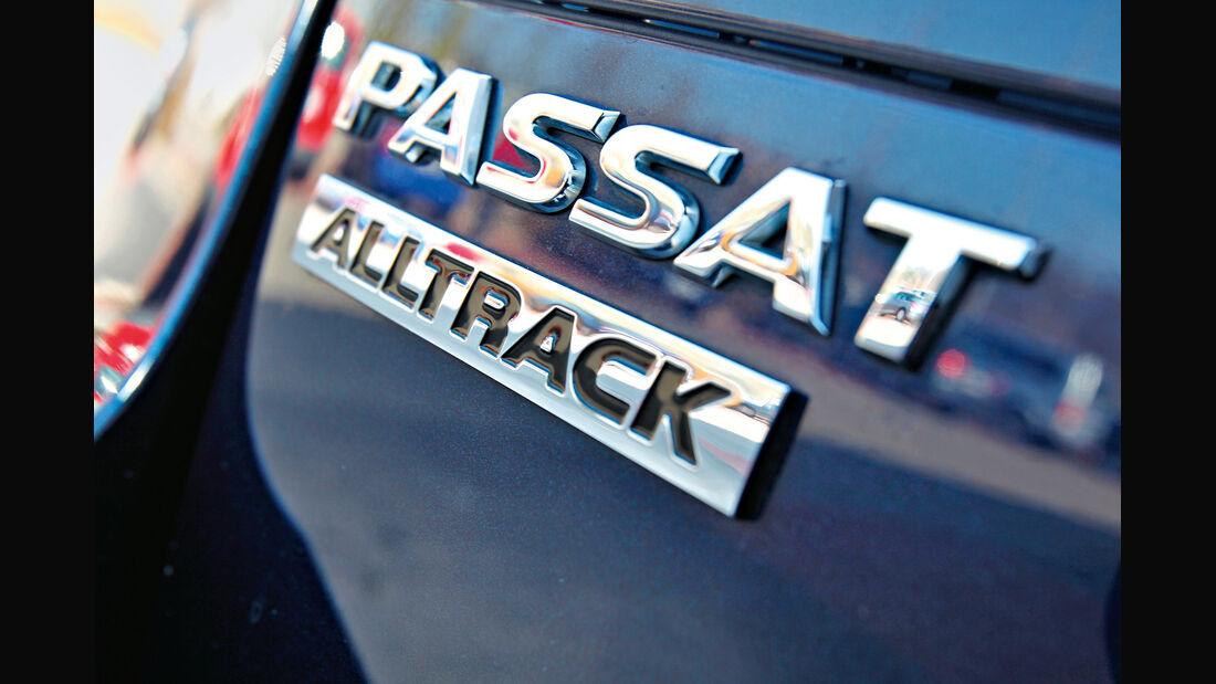 VW Passat Alltrack 2.0 TDI 4Motion, Schriftzug, Typenbezeichnung