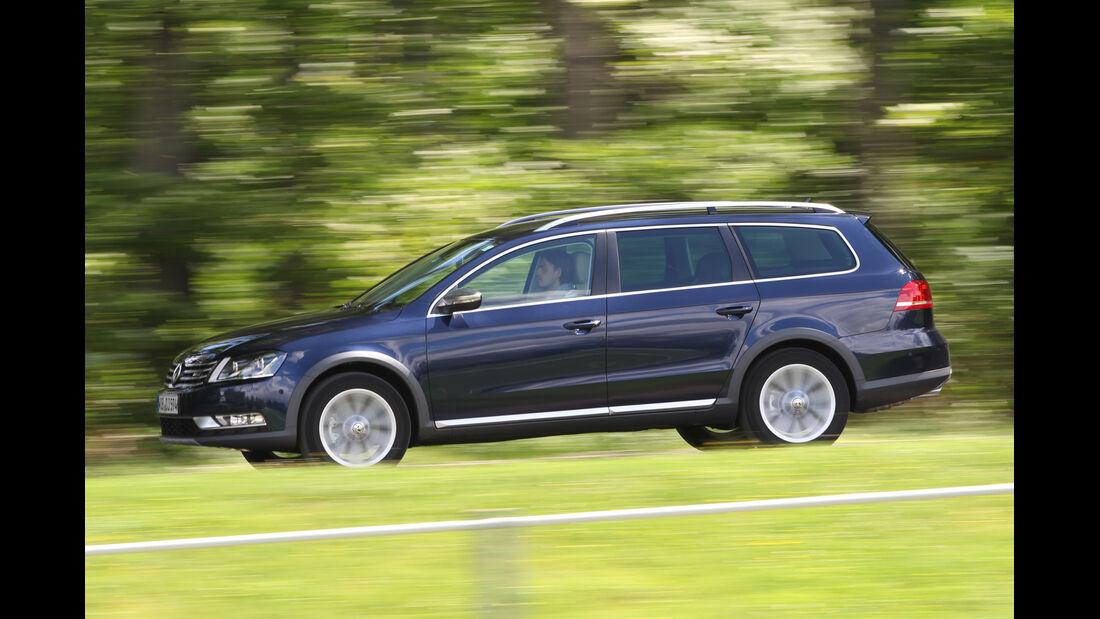 VW Passat Alltrack 2.0 TDI 4Motion, Seitenansicht