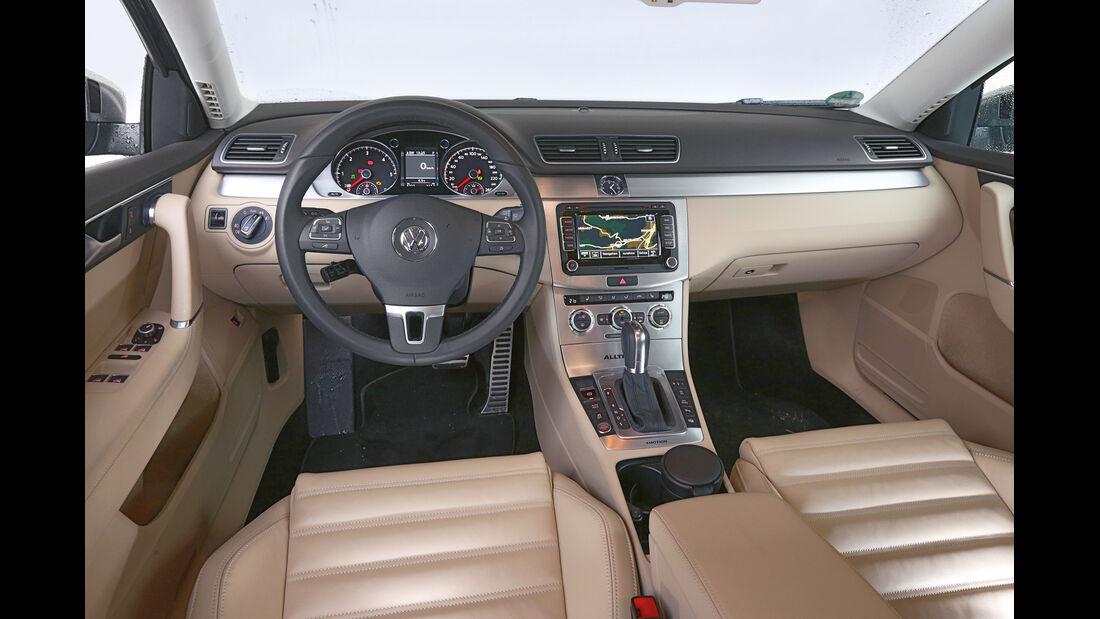VW Passat Alltrack 2.0 TDI, Cockpit