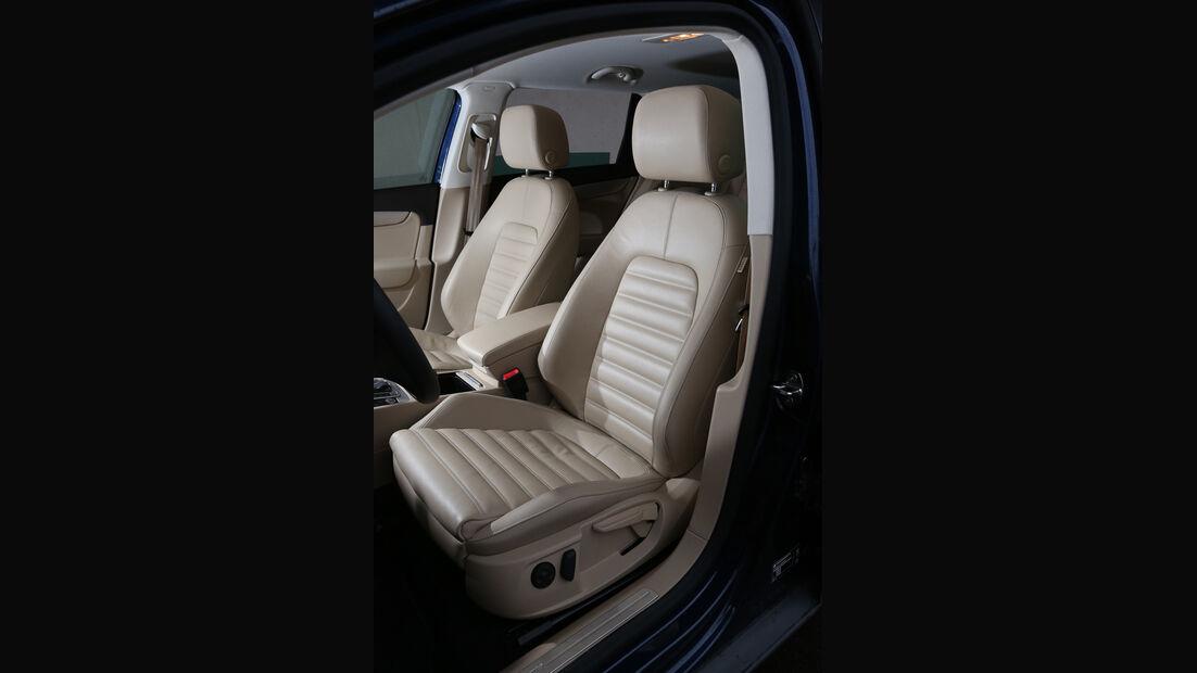 VW Passat Alltrack 2.0 TDI, Fahrersitz