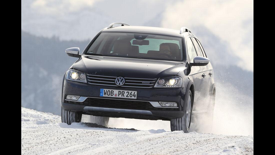 VW Passat Alltrack 2.0 TDI, Frontansicht