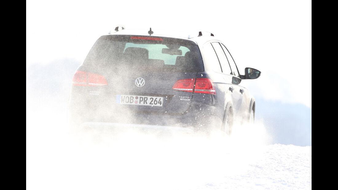 VW Passat Alltrack 2.0 TDI, Heckansicht