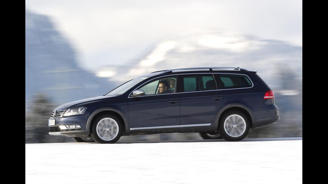 VW Passat Alltrack 2.0 TDI, Seitenansicht