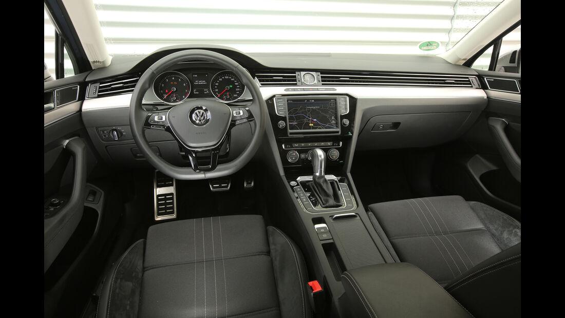 VW Passat Alltrack 2.0 TSI 4Motion, Cockpit