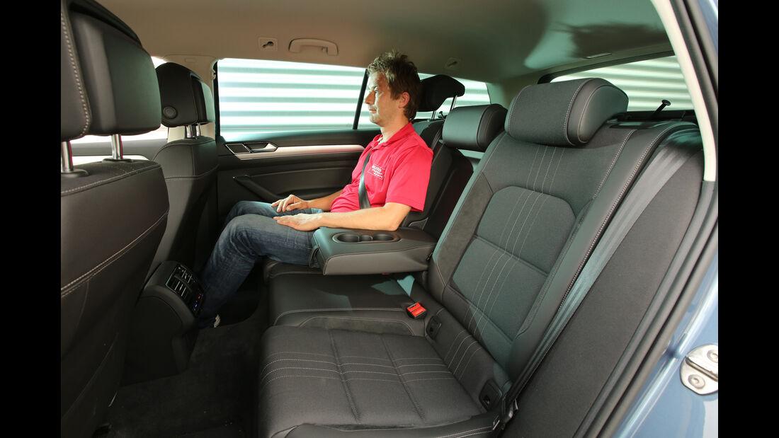 VW Passat Alltrack 2.0 TSI 4Motion, Fonsitze