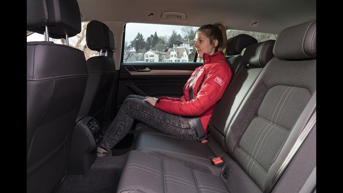 VW Passat Alltrack 2.0 TSI 4Motion, Interieur