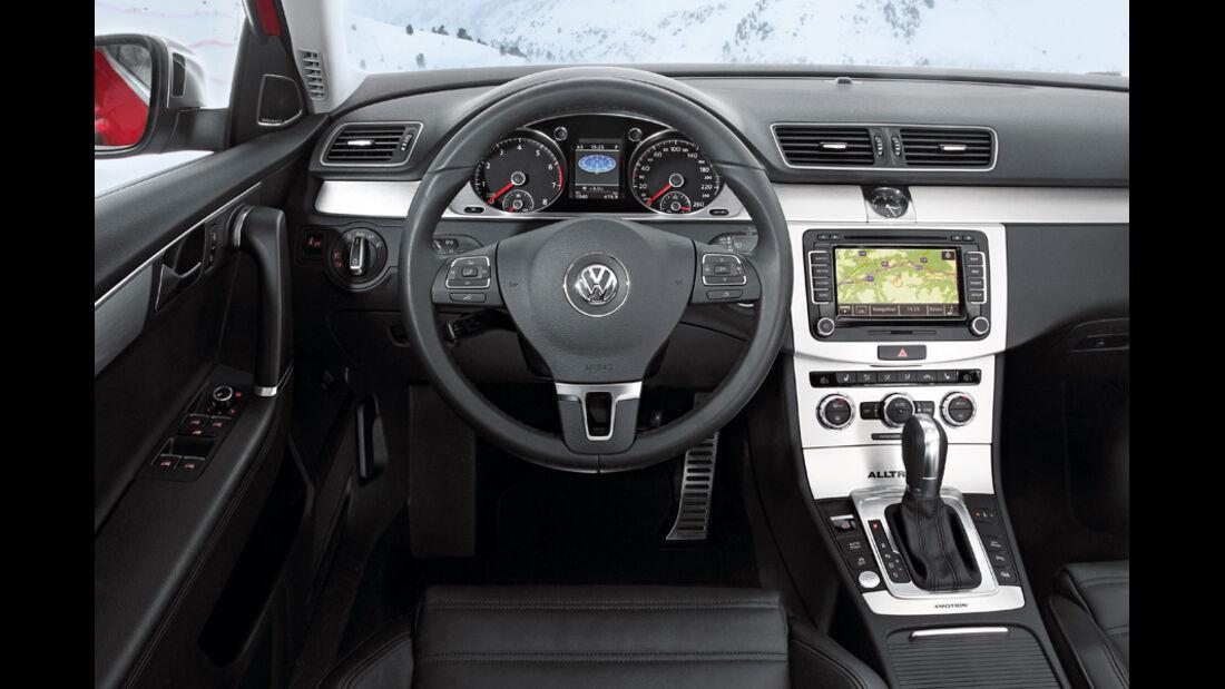 VW Passat Alltrack, Cockpit