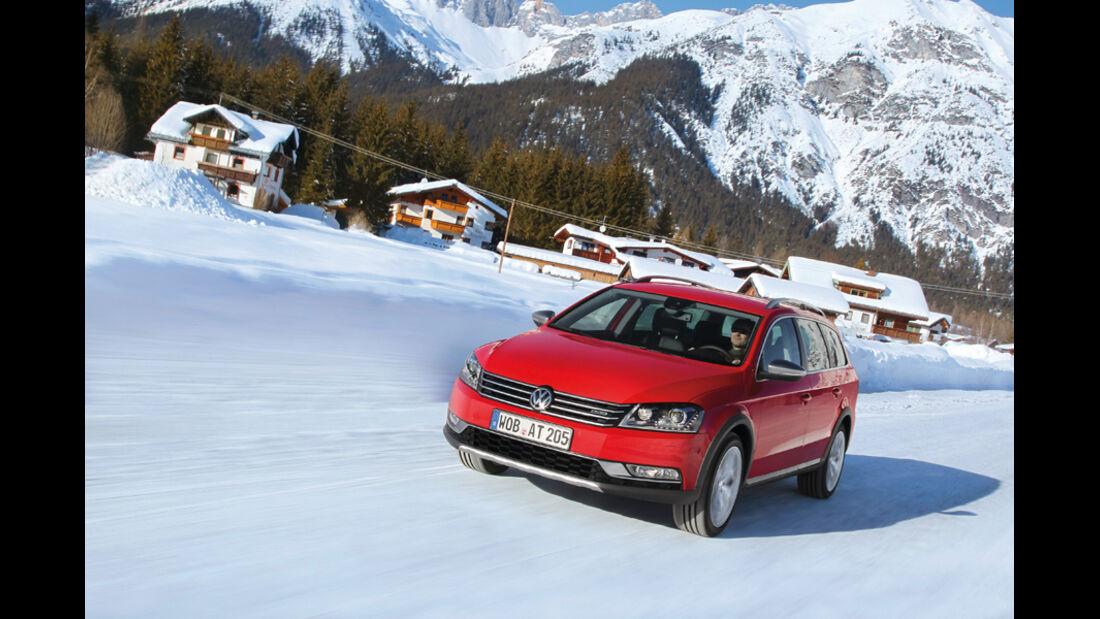VW Passat Alltrack, Frontansicht