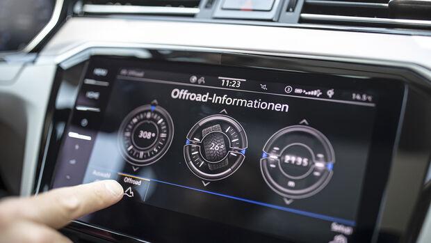 VW Passat Alltrack, Interieur